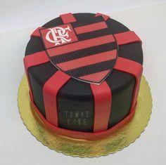 Uma vez Flamengo... #tomazcake #cakedesign #cakestagram #bolodecorado #boloconfeitado #bolodeaniversario #festa #pastry #boloflamengo