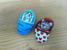 Stone painting - Kittens