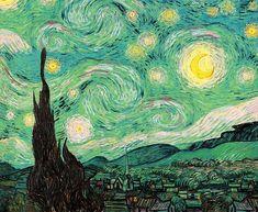 Van Gogh - Green Starry Night by AbidingCharm   Redbubble