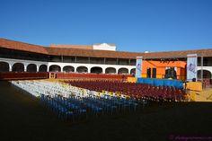 Más de 1.500 personas han asistido al V Festival 'Teatro en la Plaza' que se ha celebrado en el coso hexagonal de Almadén