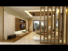 300 Modern Rooom divider ideas Home partition wall design catalogue 2019 – Home Decor DIY Closet Organization Living Room Partition Design, Living Room Divider, Room Divider Walls, Room Partition Designs, Ceiling Design Living Room, Home Room Design, Living Room Interior, Home Interior Design, Living Room Designs