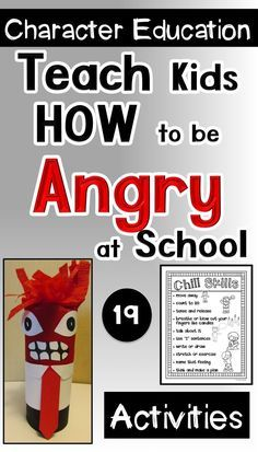 TEACH YOUR CHILD TO READ - Anger Management for Primary Kids: Teach kids appropriate ways to deal with anger through reading, role playing, writing, and this Inside Out craft. Super Effective Program Teaches Children Of All Ages To Read. Elementary School Counseling, School Social Work, School Counselor, Elementary Schools, Teaching Social Skills, Social Emotional Learning, Teaching Kids, Counseling Activities, Therapy Activities