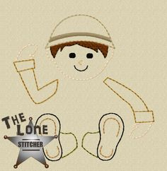 Soldier Boy Set Over Sized: The Lone Stitcher