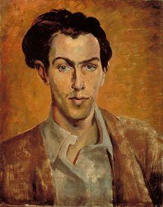 Robert Colquhoun (Scottish, 1914-1962), Self-portrait. 1940. Oil on canvas. Scottish National Portrait Gallery, Edinburgh