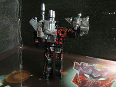 Custranz #customtransformer #decepticon cassette Carnage. Back view. #g1 #custom #decals #transformers #creative #designer #commission