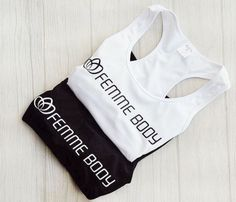 Perfect workout pieces { monochrome tones } #femmebodyactive Perfect Workout, Body, Monochrome, Perfect Fit, Athletic Tank Tops, Collection, Women, Fashion, Woman
