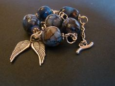 Supernatural Angel Inspired Bracelet di FollowTheGrace su Etsy