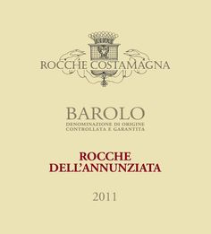 Costamagna Barolo Rocche dell´Annunziata 2011 Food Combining, Red Fruit, Barrels, Wood Boxes, Tags