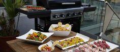 Leckere Grillbeilagen: Himbeer-Tabouleh, Penne-Salat mit Parmesan-Lollys und  Gegrillter Kartoffelsalat!