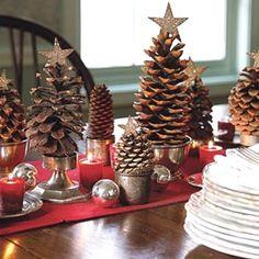 Crea originales árboles de navidad #Decoracion #Navidad #Christmas #DIY