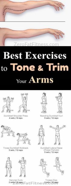 Lose arm fat 2 weeks