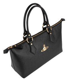 Luxury Bags | Vivienne Westwood Divina Bag - Black | @ KJ Beckett