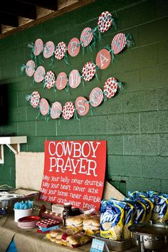 Cowboy Western 1st Birthday Birthday Party Ideas | Photo 47 of 67 | Catch My Party
