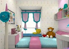 62 Simple Girls Bedroom Designs That Look Beautiful and Cheerful