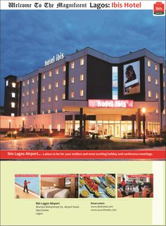 Newspaper Advert for Ibis Hotel Lagos