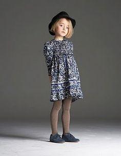 little girl dress in paisley.