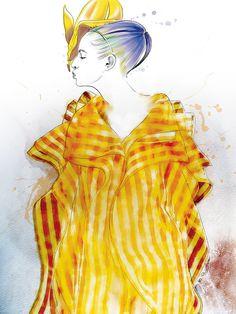 Illustration.Files: Fashion Illustrations by Yuriy Ratush