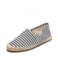 low priced 93657 4c46b Costa - Black   White Espadrilles for Women from Soludos - Soludos  Espadrilles