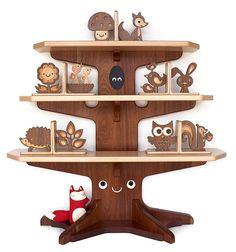 adorable bookshelf!