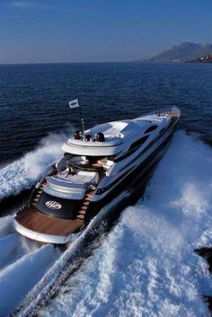 Pershing 115 - AJ MacDonald - Yacht Broker - AJ@DenisonYachtSales.com