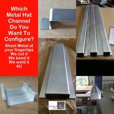 https://metalscut4u.com/blog/configure-and-order-the-metal-hat-channel-you-need-online.html  #metal #homeimprovement #homerepair #craftsman #handyman #hatchannel #sheetmetal #cut2size