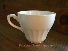 Ironstone Classic White Cups by J  G Meakin England