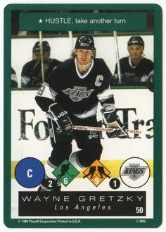Wayne Gretzky # 50 - Playoff One on One Hockey Hockey Cards, Baseball Cards, Ice Hockey Players, Wayne Gretzky, National Hockey League, Nhl, Mint, Peppermint