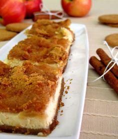 Μηλόπιτα cheesecake - The one with all the tastes Apple Deserts, Cookie Recipes, Dessert Recipes, Greek Desserts, Sweet Pie, Breakfast Time, Sweet Recipes, Delicious Desserts, Food And Drink