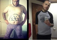 Transformation Tuesday: How Vasely Overcame Obesity (And Lost 145+ lbs)  This is a guitarist from one of my fav bands.