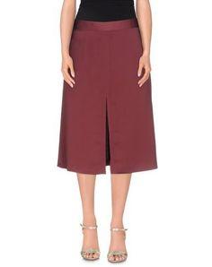 MAURO GRIFONI Women's 3/4 length skirt Brick red ...