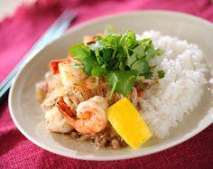 春雨のエスニック丼のレシピ・作り方 - 簡単プロの料理レシピ | E・レシピ