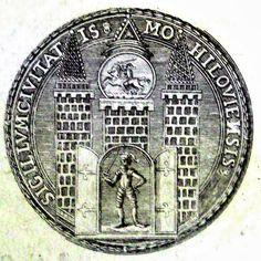 Pieczęc miejska Mohylewa 1661