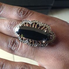Magnificent Black Onyx Ring