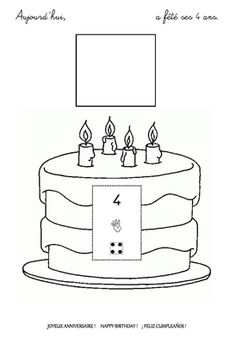 Black and White Birthday Cake- You can find almost