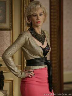Aurora (Mariana Ximenes) em 'Joia Rara'