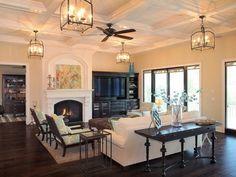 mediterranean decor | Mediterranean Decorating Styles: Mediterranean Living Room Decorating ...