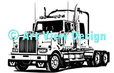 Our Dodge White Truck Design || Original and one of a kind || Pattern can be used for everything and every cutting machine || ♡