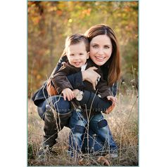 Mom and Son portraits