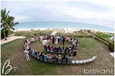 Wedding set up on Lawn, Somerset Resort, Turks and Caicos Islands