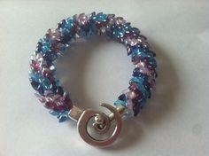 Ocean Waves Kumihimo Bracelet on Etsy, $15.00