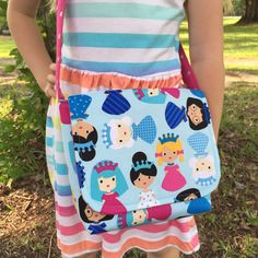 Princess Messenger Bag Toddler S Little Purse Frozen Inspired The Zoey
