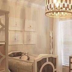 Ducduc Regency Crib, Contemporary, nursery, Benjamin Moore Classic Gray, Rock Paper Scissors