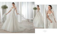 Demetrios Wedding Gowns style 614, 2016 Collection, Bridal Dresses
