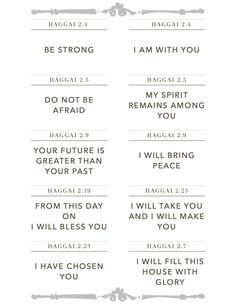 Encouragement from Haggai 2 Old Testament Bible, Verses For Kids, I Love You God, Bible Study Tools, Favorite Bible Verses, Bible Lessons, Spiritual Inspiration, Words Of Encouragement, Word Of God