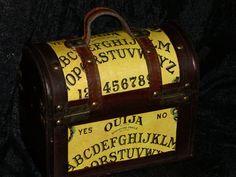 Ouija Talking Board box purse HALLOWEEN by OUIJAWAYDIDTHEYGO