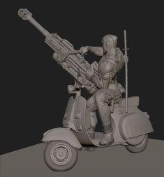ArtStation - Deadpool, Will Harbottle