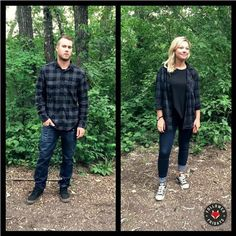 Follower Friday's // Flannel Foxes // Tomboy Fashion Blog // Plaid in the Forest Tomboy Fashion, Cute Couples, Flannel, Menswear, Punk, Plaid, Foxes, My Style, Instagram Posts