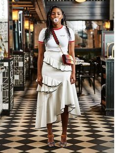 """Jessica Williams: """"Your Mouth Is the Biggest Weapon That You Have"""" Boho Fashion, Fashion Looks, Fashion Outfits, Womens Fashion, Black Sistas, Jessica Williams, Fashion Colours, Everyday Look, Fashion Addict"""