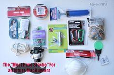 MacGyver kit (basket idea)