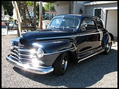 1947 Plymouth Special Deluxe Club CoupeOwned one of these babies......in 1963 traded my 38 plymouth for it.... come a long way baby!!!!!!!